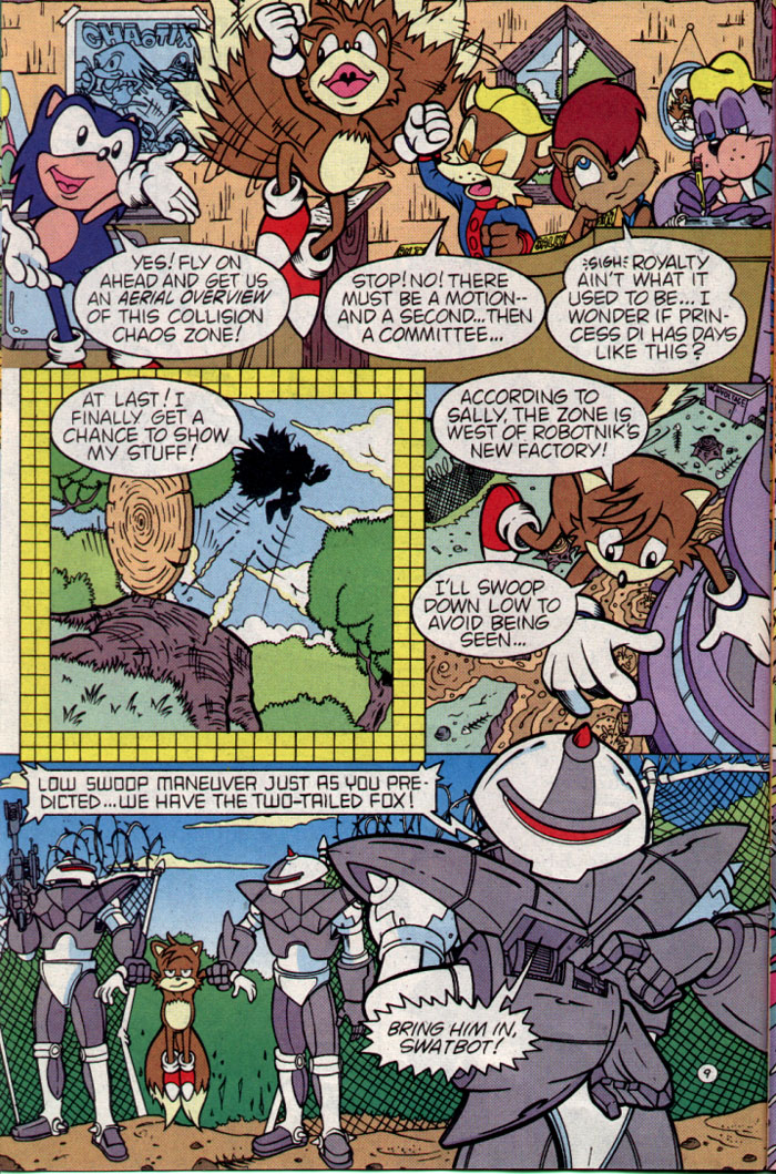 Read online Sonic The Hedgehog comic -  Issue #25 - 10