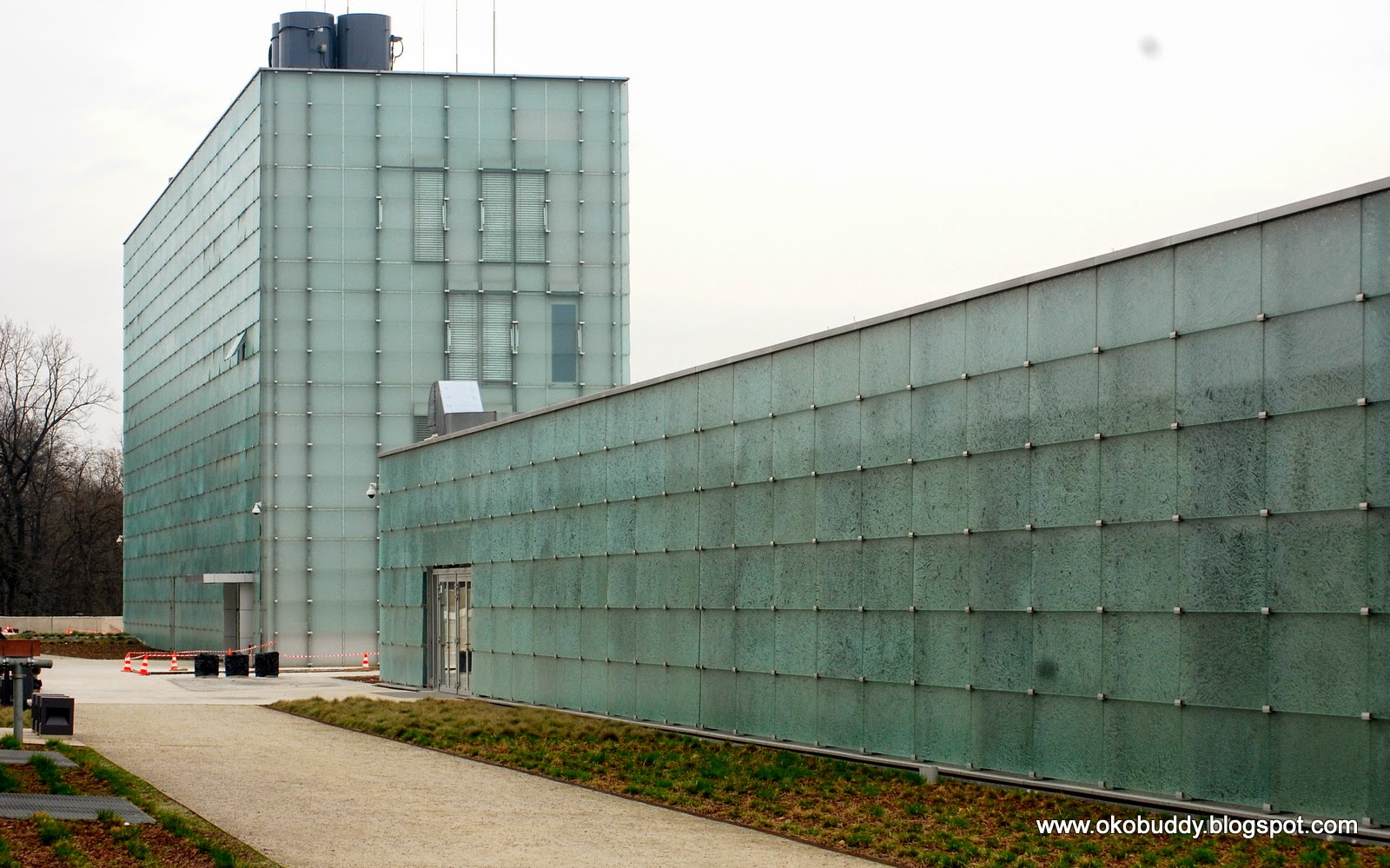 Nowy kompleks budynków Muzeum Śląskiego, na terenie dawnej KWK Katowice