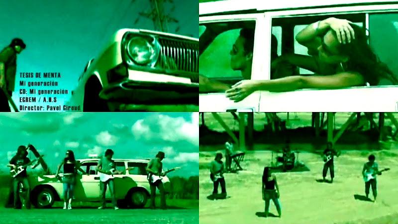 Tesis de Menta - ¨Mi generación¨ - Videoclip - Dirección: Pavel Giroud. Portal del Vídeo Clip Cubano