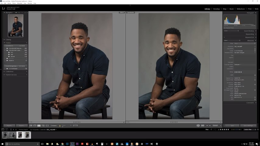 Fuji X-T2 vs. Nikon D750 in the studio with sample raw files