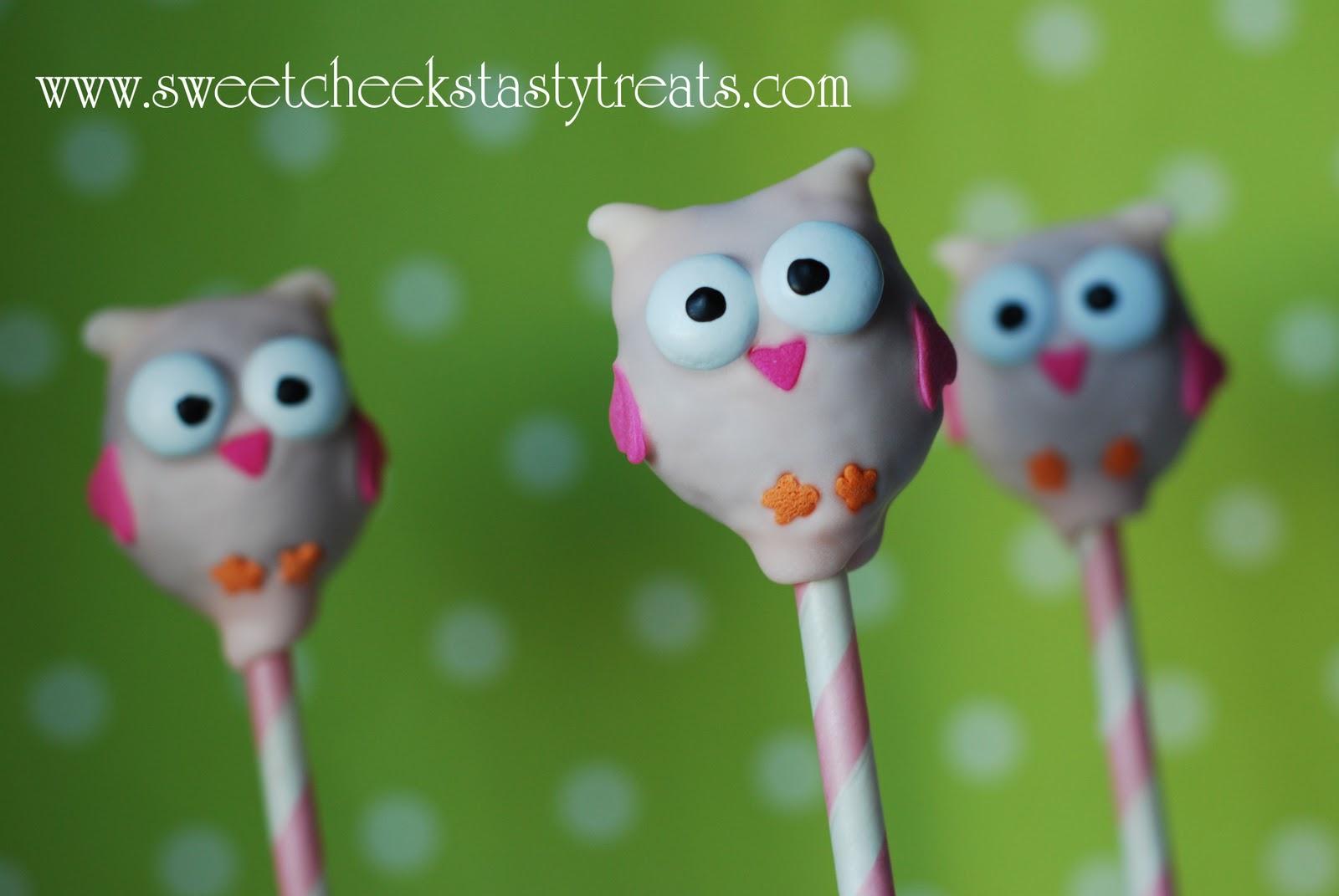 Owl Cake Pops Bakerella