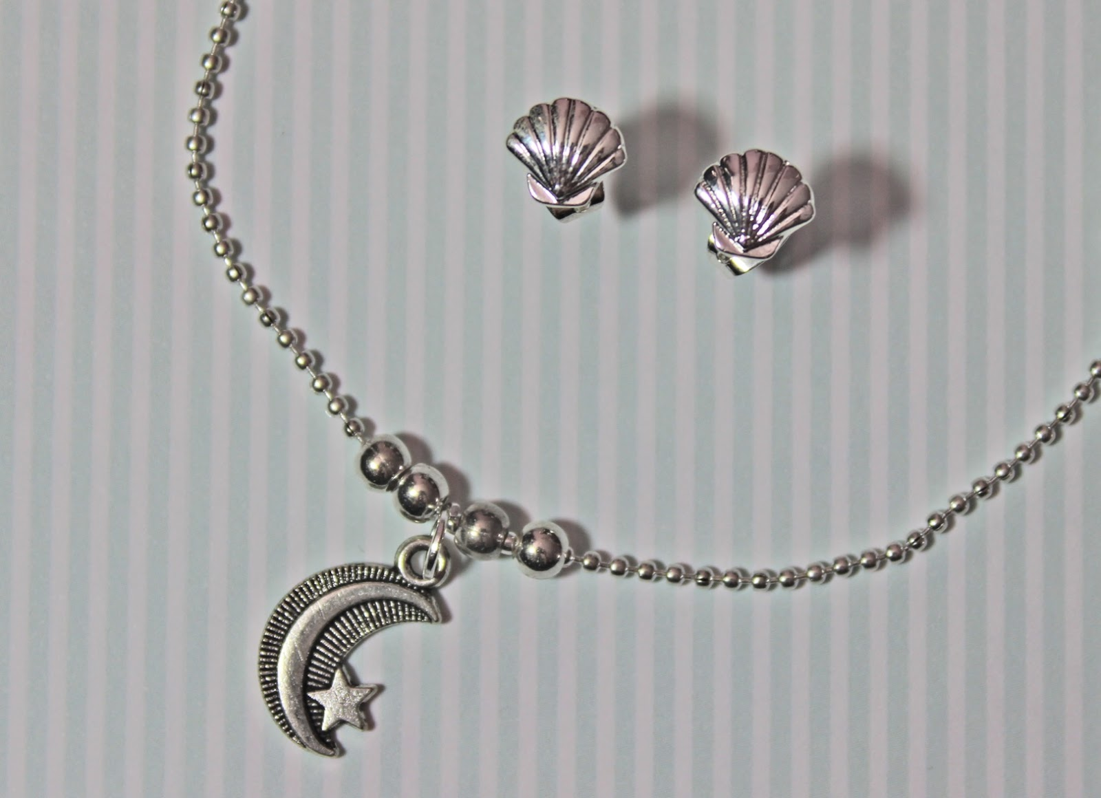 coconut lane jewellery shell moon
