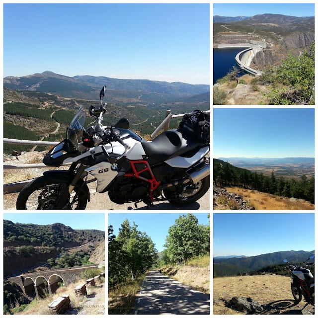 BMWF800GS. Trail Forever. La Sierra Norte. Bocígano.