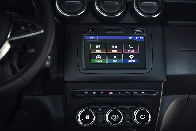 novo Dacia Duster 2018 - interior