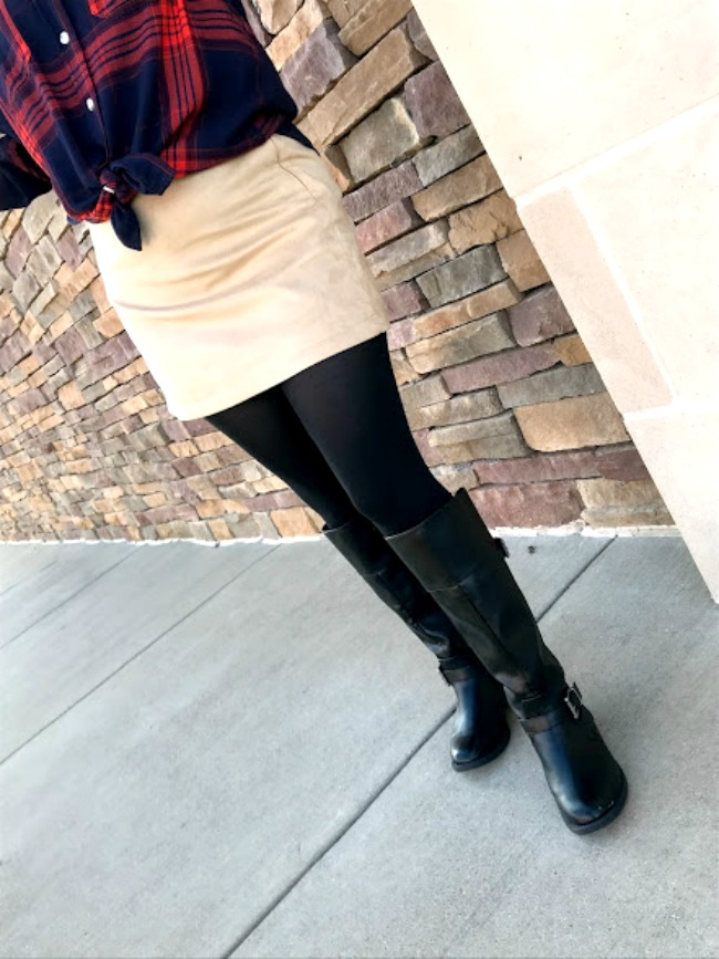 Tall Boots With Tights
