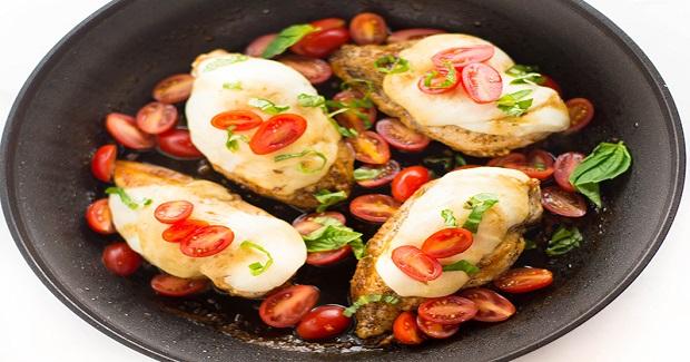 One Pan Chicken Bruschetta Recipe