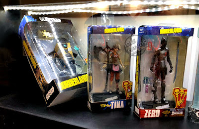 Toy Fair 2018 McFarlane Borderlands Claptrap Tiny Tina Zero Action Figures 01