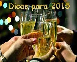 Um brinde para o ano novo 2015