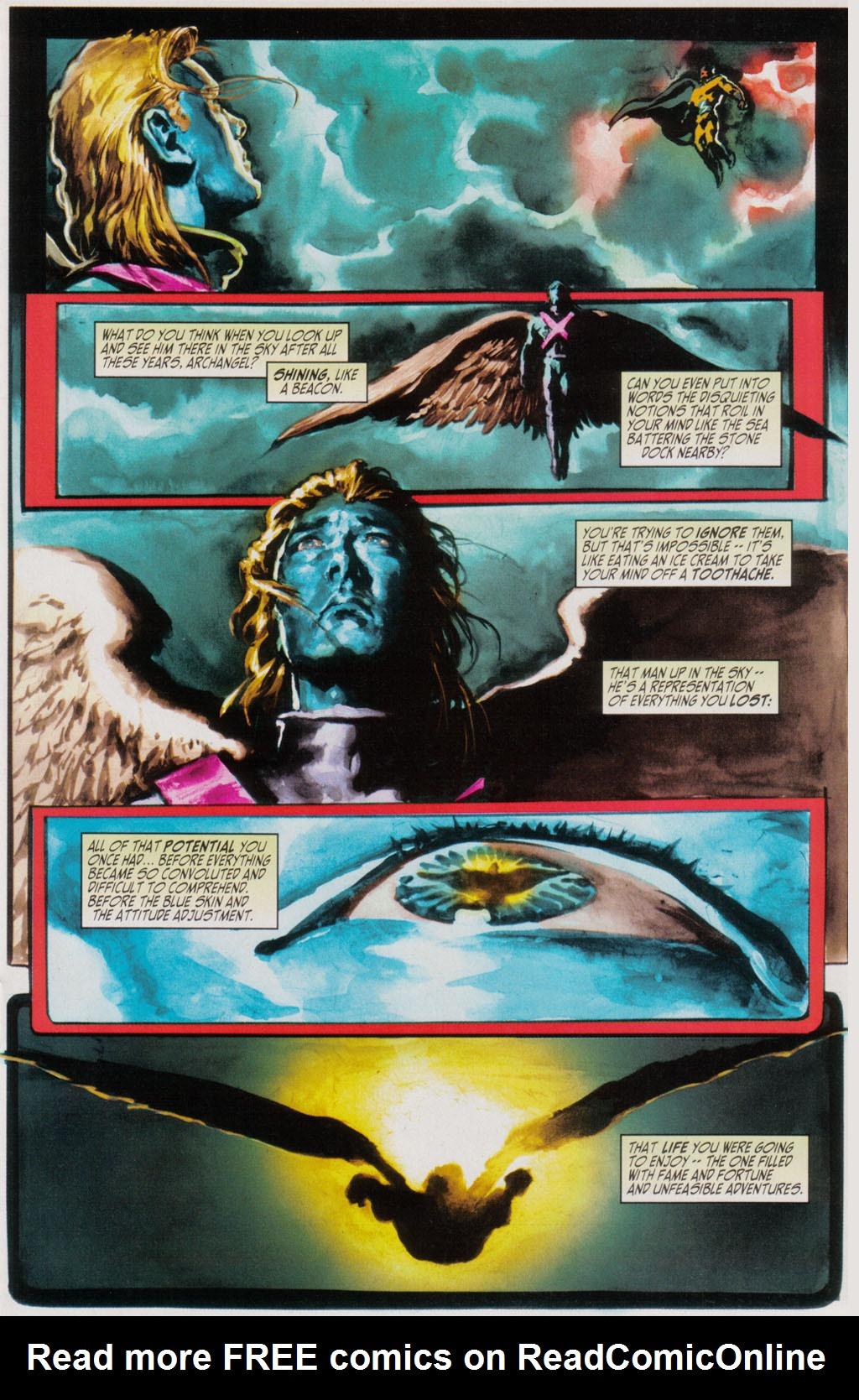 Read online Sentry/X-Men comic -  Issue # Full - 5