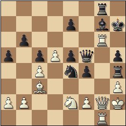 Partida de ajedrez Rey Ardid vs. Sanz, posición después de 42.Dg2