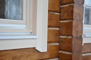 Окосячка и окна из дерева