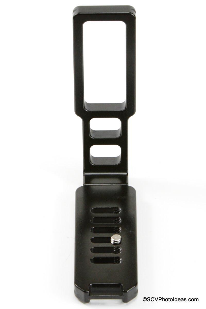 Hejnar Photo Universal Modular L Bracket 44 - base plate end view