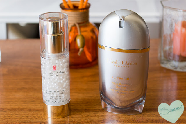 February Finds: New Products I've Been Trying: ELIZABETH ARDEN | Flawless Future Caplet Serum & Superstart Skin Renewal Booster
