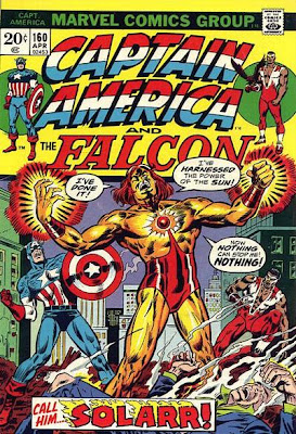 Captain America and the Falcon #160, Solarr