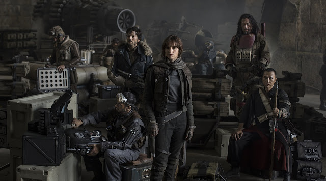 rogue one main cast characters