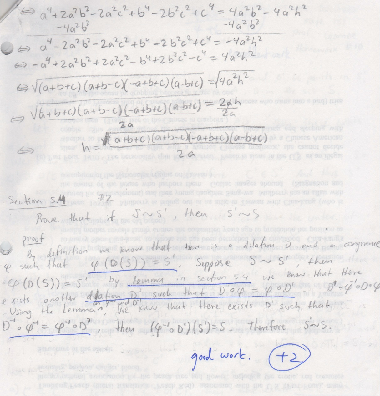 My old math homework from UC Berkeley : Math 151 hw10