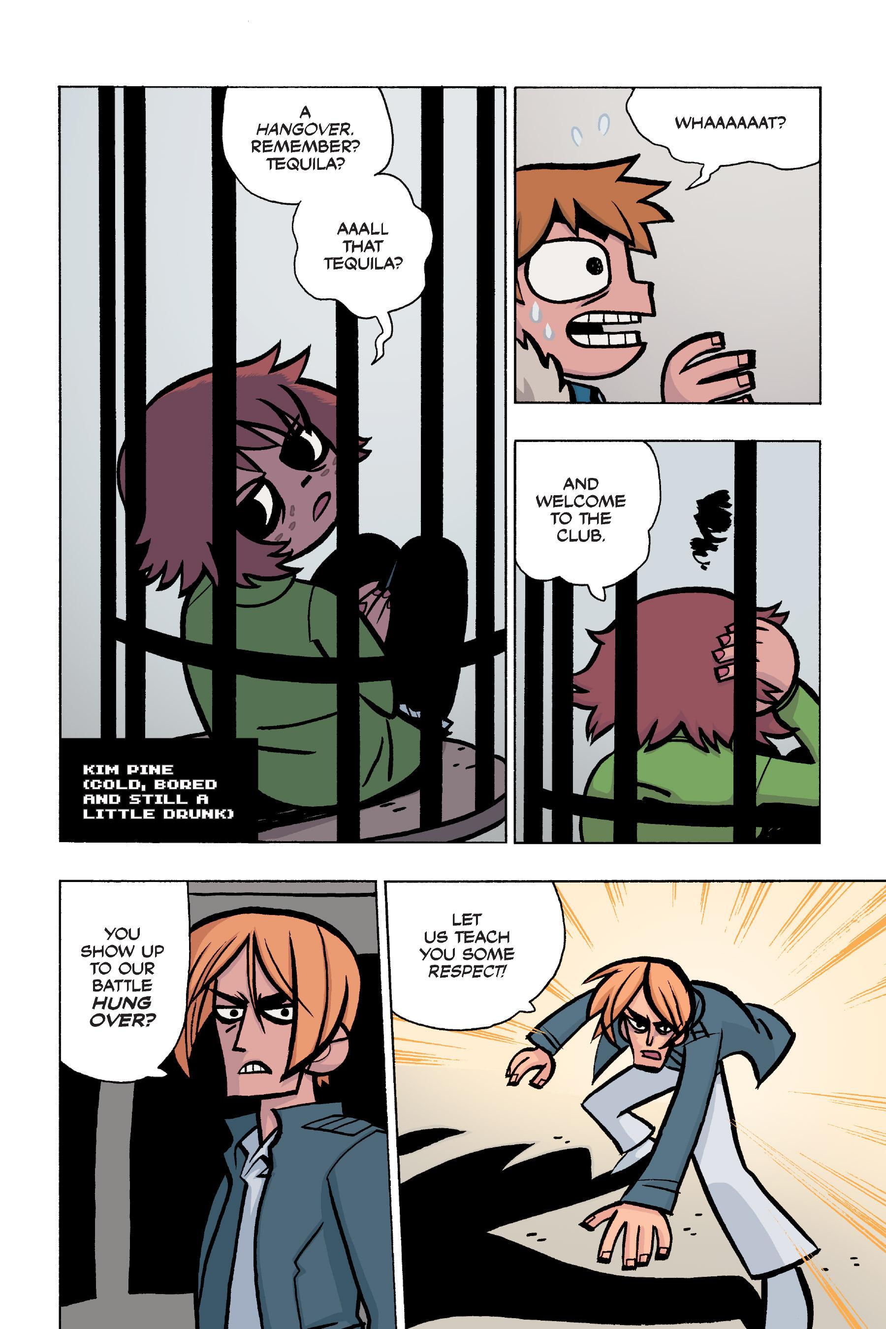 Read online Scott Pilgrim comic -  Issue #5 - 118