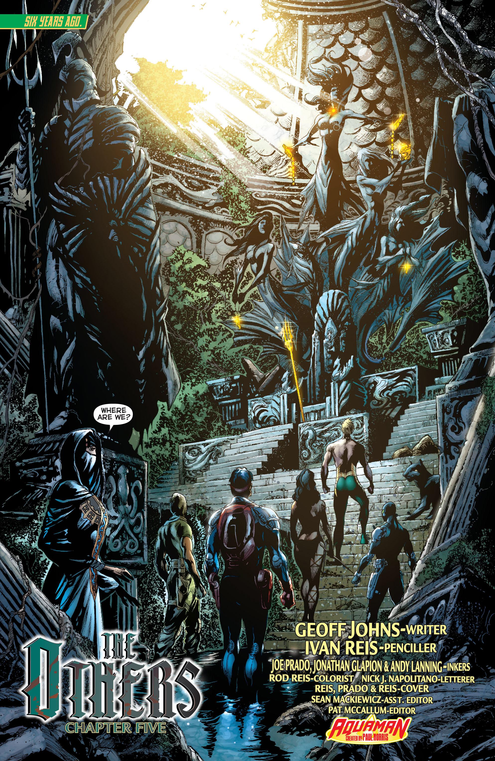 Read online Aquaman (2011) comic -  Issue #11 - 2