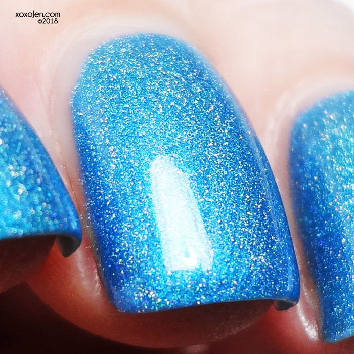 xoxoJen's swatch of Leesha's Lacquer Surf's Up