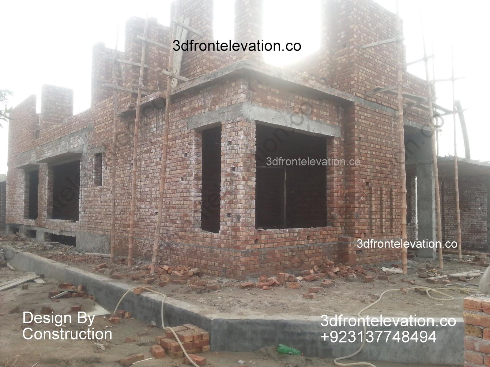 1 Kanal Corner House Bahria Town Construction, Architectural , Interiors Design Services