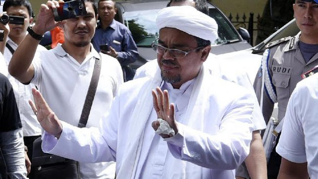Rizieq Shihab Serukan Ulama Menangkan Prabowo-Sandiaga