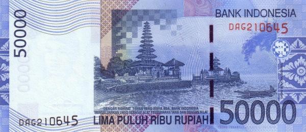 50 ribu rupiah 2004 belakang