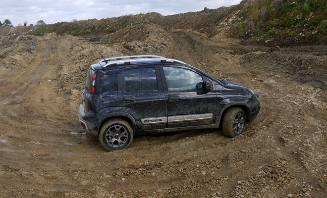 Fiat Panda Cross TwinAir off-road