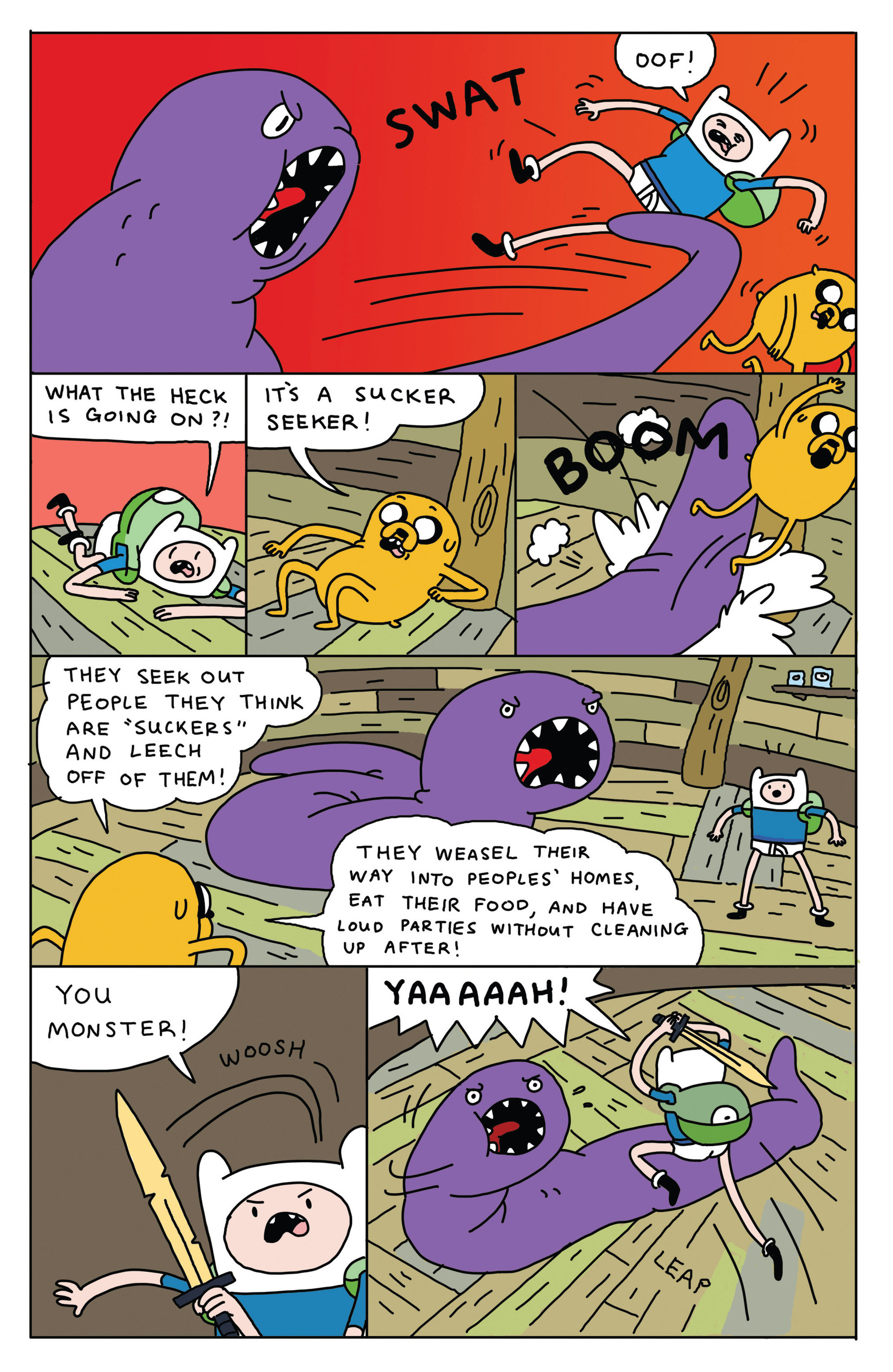 Read online Adventure Time 2013 Summer Special comic -  Issue #Adventure Time 2013 Summer Special Full - 17