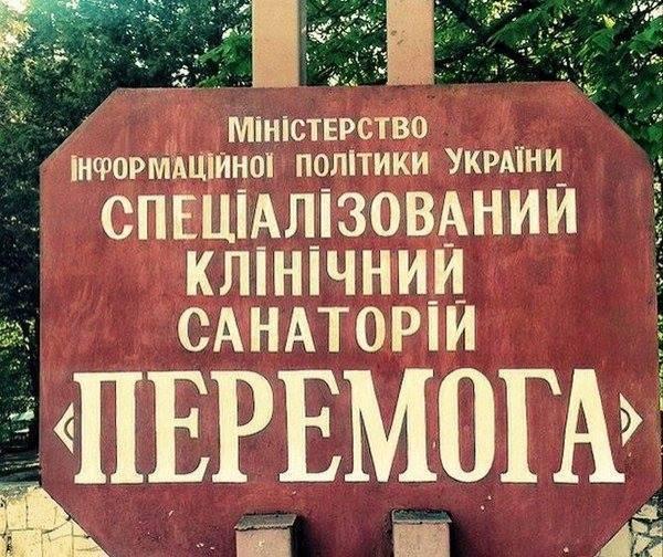 Вечера на хуторе близ санатория «Перемога»