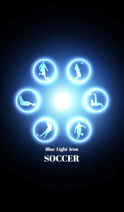 Blue Light Icon SOCCER