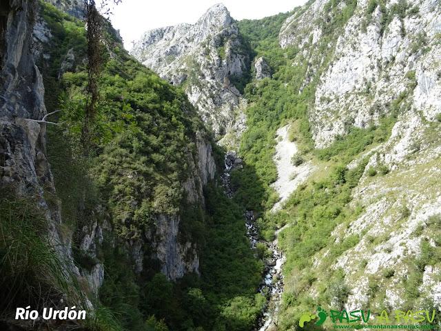 Canal de Reñinuevo: Río Urdón