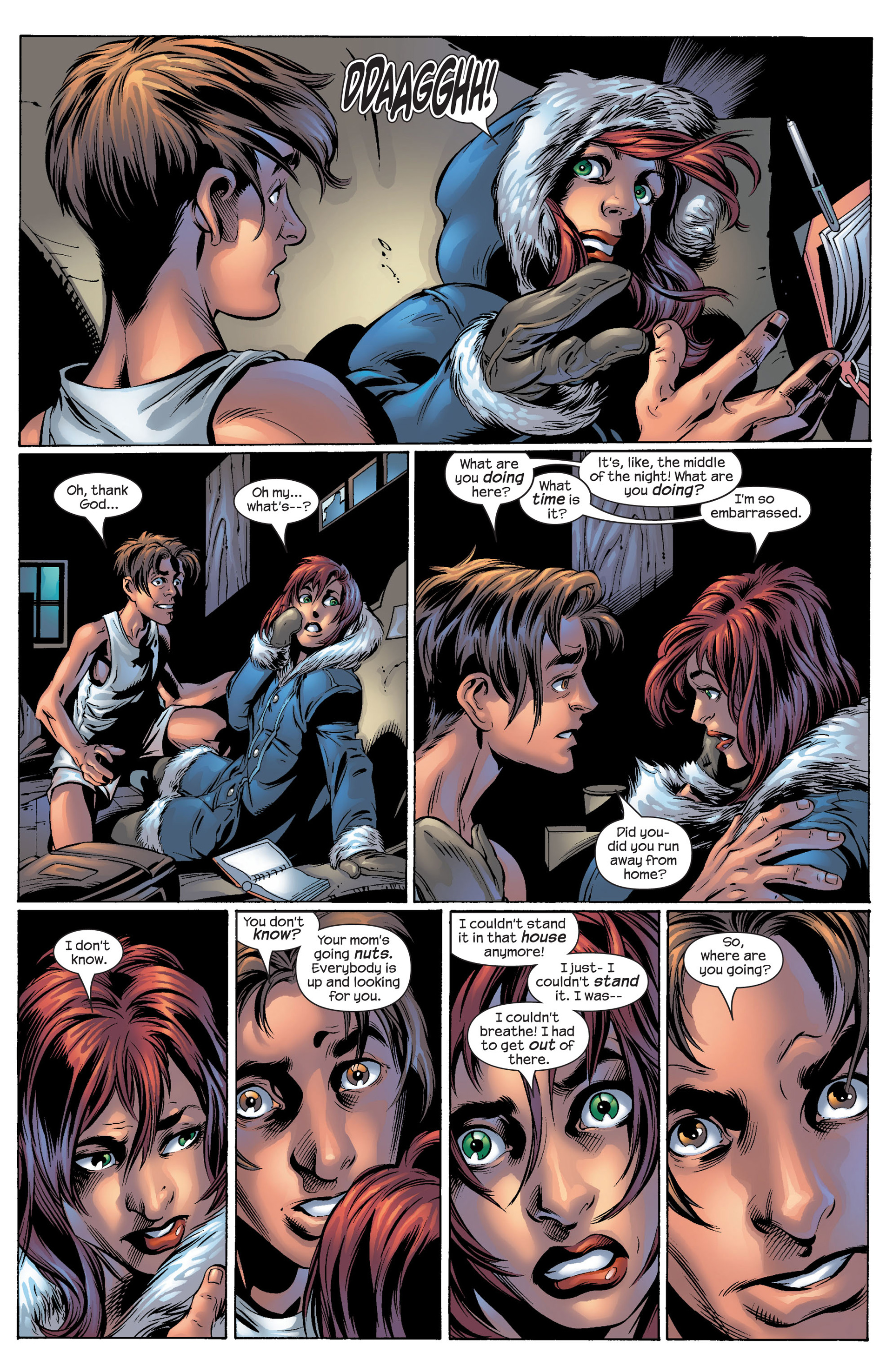 Read online Ultimate Spider-Man (2000) comic -  Issue #53 - 9