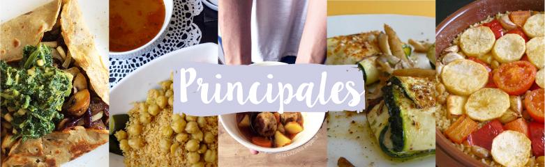 Principales veganos de La Cazuela Vegana