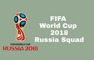 FIFA World Cup Russia 2018 Squad