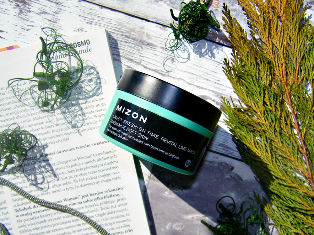 Enjoy Fresh-On Time Revital Lime Mask koreańskiej marki Mizon