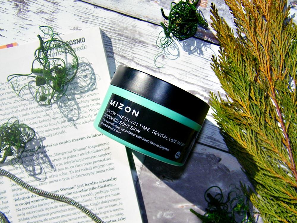 Enjoy Fresh-On Time Revital Lime Mask koreańskiej marki Mizon