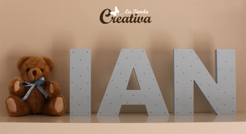La Tienda Creativa  Letras para decorar y mucho ms