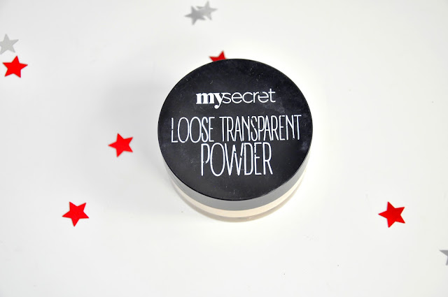 puder sypki my secret loose transparent powder