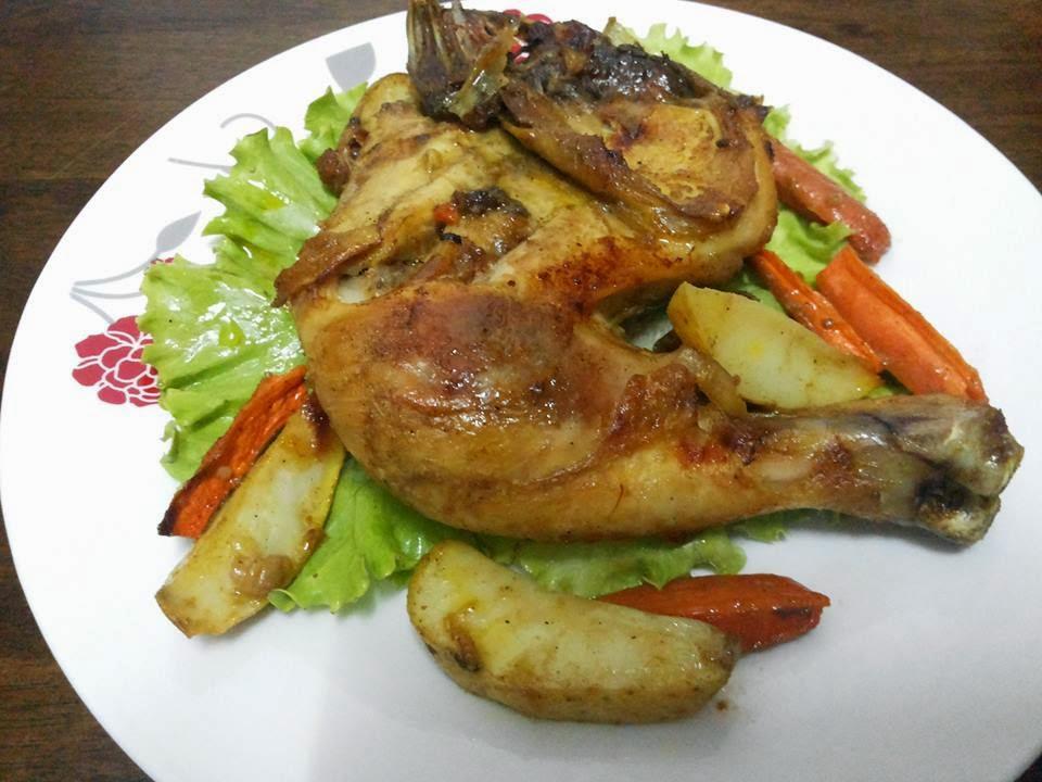 Tertunailah Hasrat Di Hati Nasi Mandy Yaman Ayam