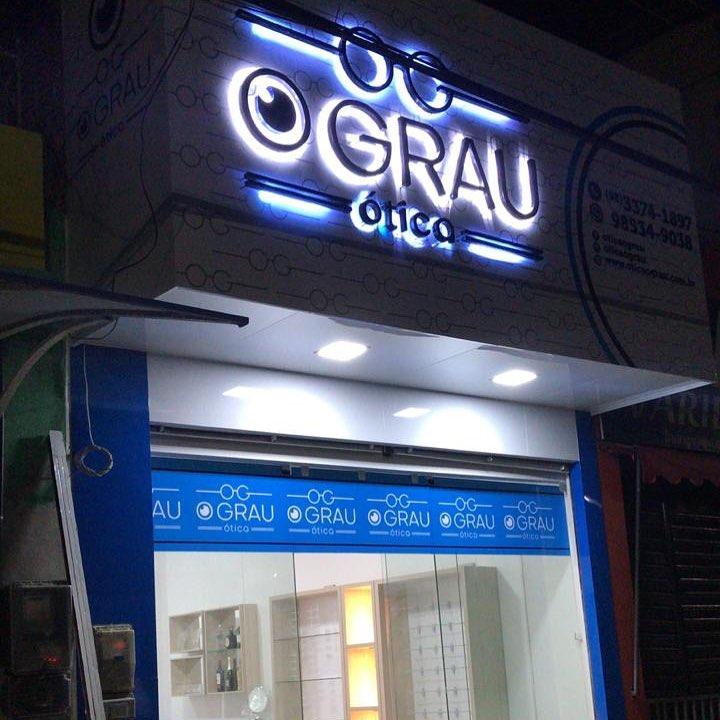 Precisando de óculos de grau passe agora mesmo na Ótica O Grau, e solucione  já o seu problema de vista, localizada na Avenida João Moraes de Sousa, ... ff77f43cd0