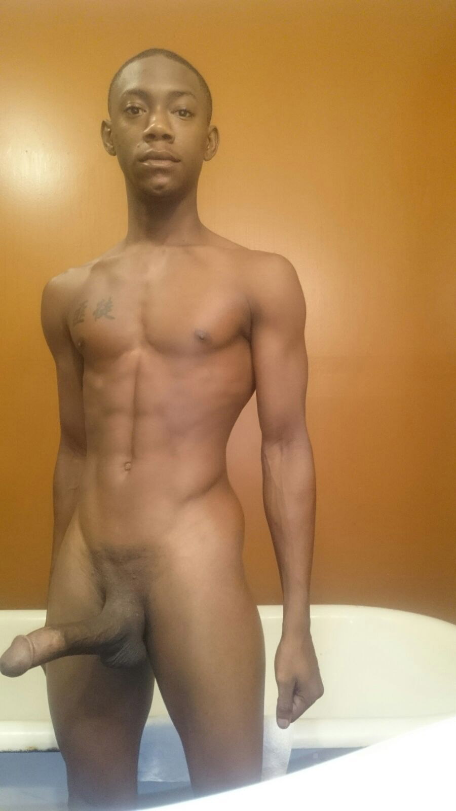 Naked Man Black