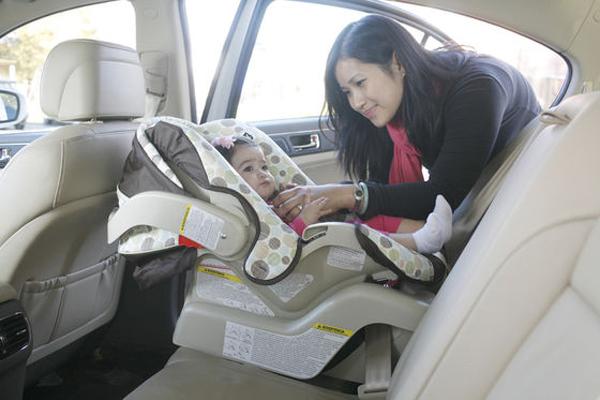 Ghế ngồi dành cho trẻ em trên Ô tô là vô cùng cần thiết