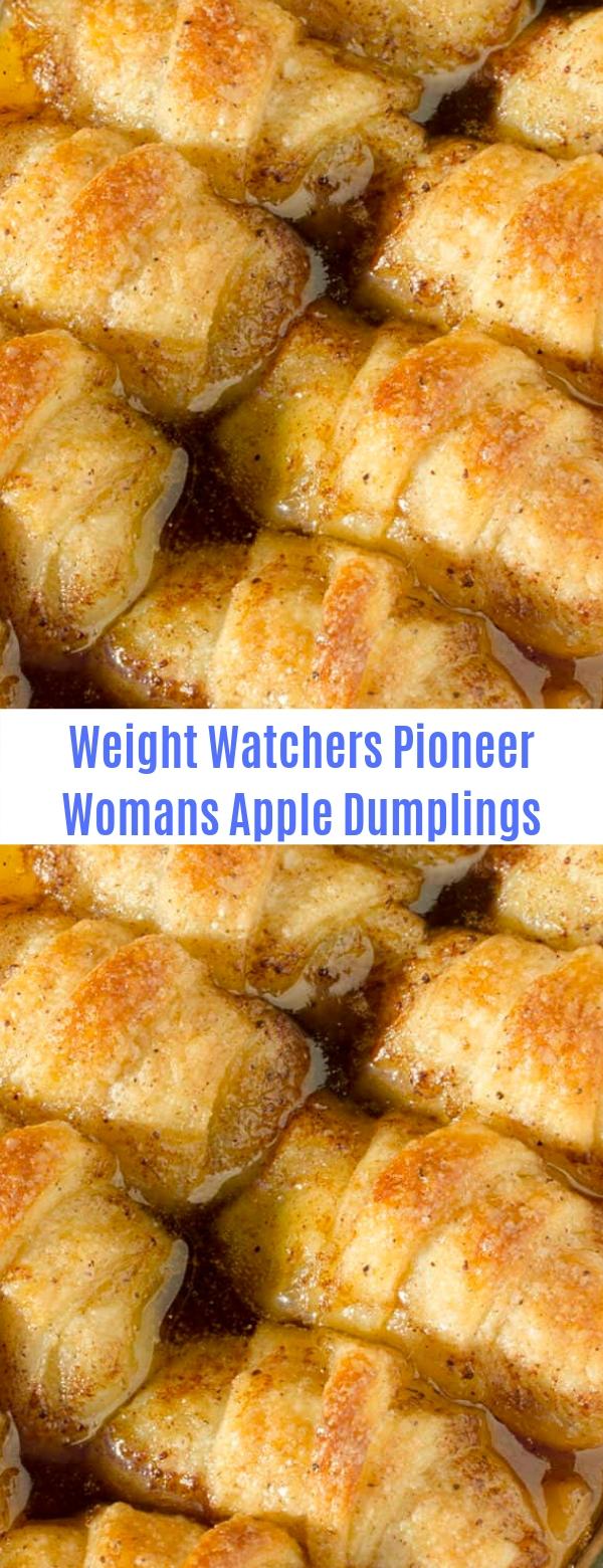 Weight Watchers Pioneer Womans Apple Dumplings