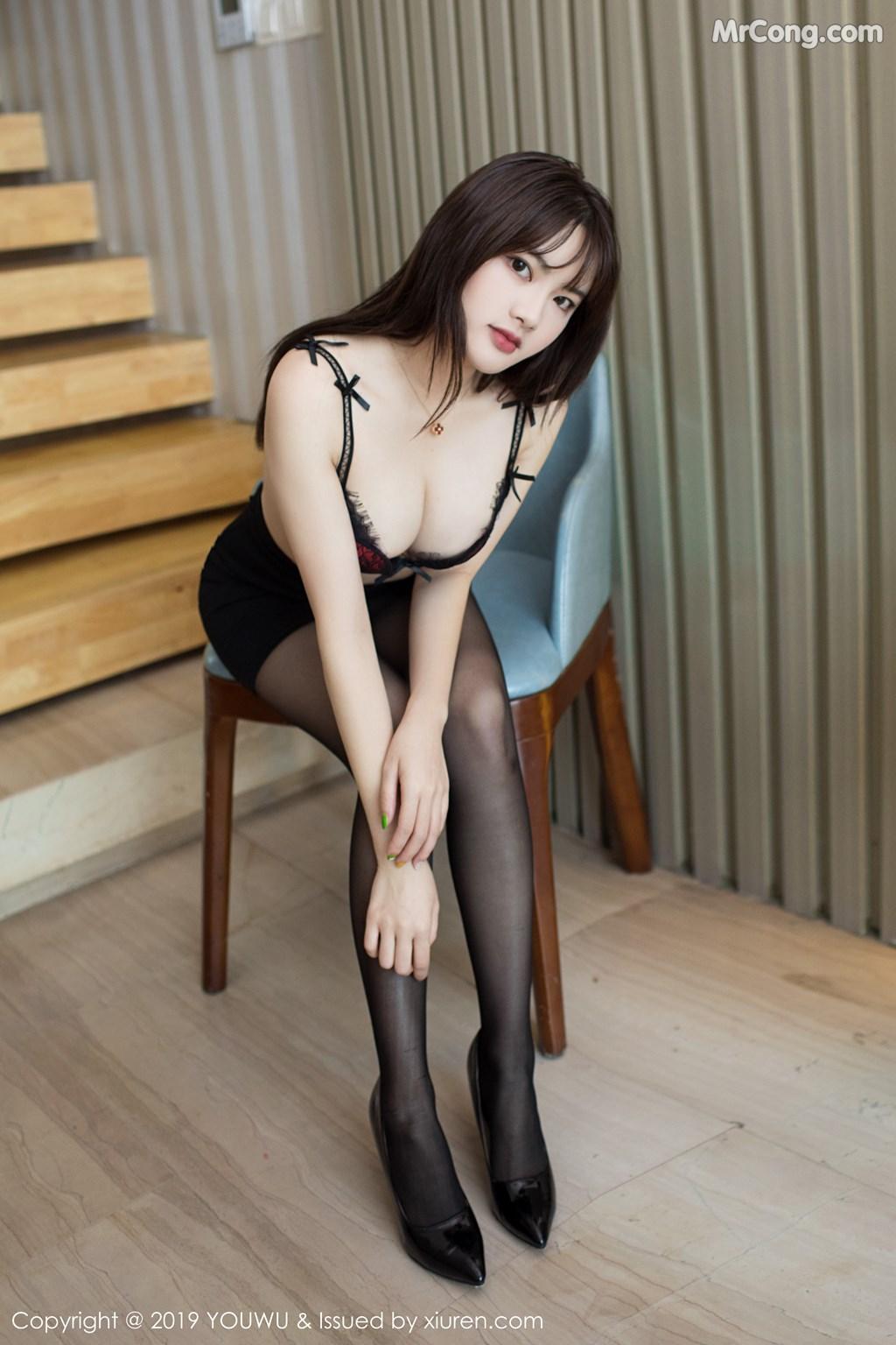 Image YouWu-Vol.161-Xiao-Cangshu-MrCong.com-003 in post YouWu Vol.161: Xiao Cangshu (小仓鼠) (65 ảnh)