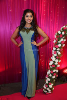 Anupama Paramesvaran in beautiful Sleeveless Gown at Zee Telugu Apsara Awards 2017 11.JPG