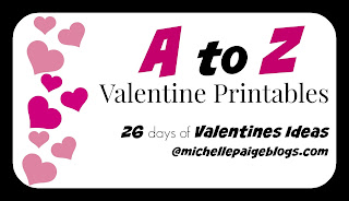 A to Z Valentine Printables