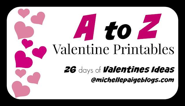 A to Z Valentine Printables