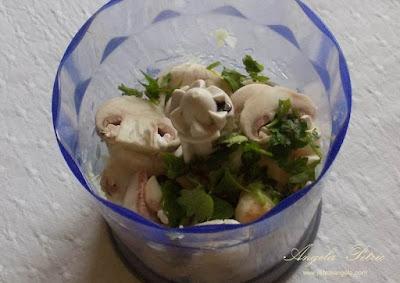 Cosulete cu ciuperci - etapa 3