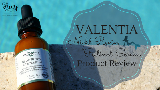 Valentia Night Revive Retinol Serum blog title