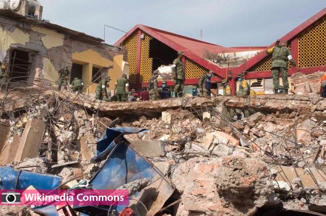 زلزال قوي بقوة 8 درجات يضرب المكسيك ويقتل اكثر من 36 شخصا